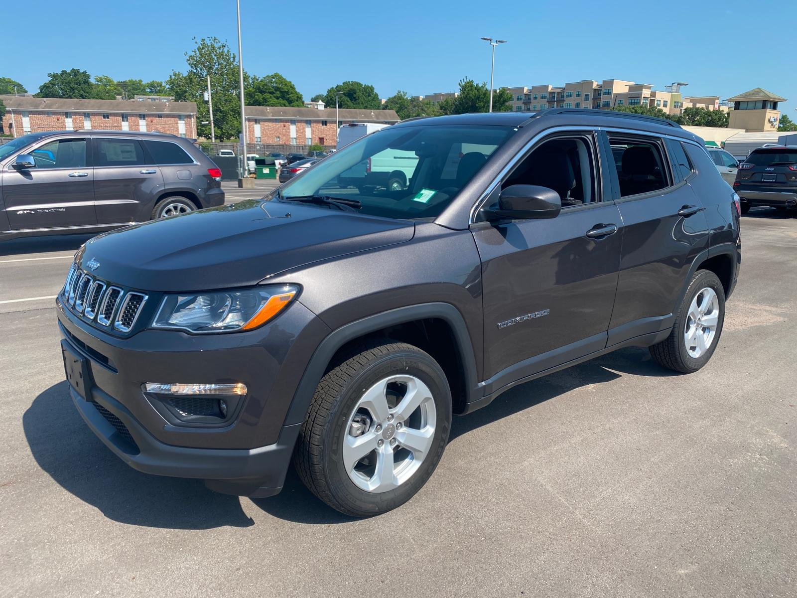 New 2020 Jeep Compass Latitude 4wd Suv Manual Guide