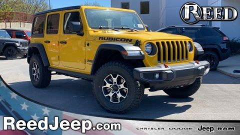 New 2020 Jeep Wrangler Unlimited Rubicon 4x4 4WD Sport Utility