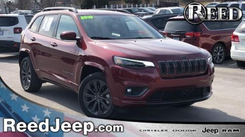 Certified Pre-Owned 2019 Jeep Cherokee High Altitude 4x4 4WD Sport Utility