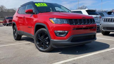 New 2020 Jeep Compass Altitude 4x4 4WD Sport Utility